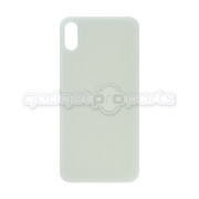 iPhone X Back Glass NO LOGO (Silver)
