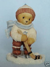 Cherished Teddies  ~  BRANDON  *  Playing Hockey  * NIB