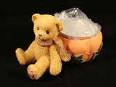 Cherished Teddies  ~  PUMPKIN  TEA LIGHT  *  NIB