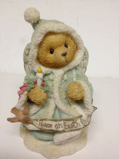 Cherished Teddies  ~  ANGELA ... PEACE  ON  EARTH  * NIB