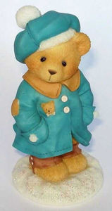 Cherished Teddies  ~  ALYSSA ... Winter Coat & Hat  *  NIB