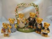Cherished Teddies  ~   WEDDING COLLECTOR SET  *  Bride, Groom, etc.
