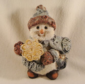 SPARKLY SNOWMAN ... With Cookie  *  NEW From Our Retail Shop