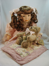 Boyds  DOLL  ~  CHERYL ANN ... NIGHTY NIGHT   *QVC L.E.*   NEW In Box