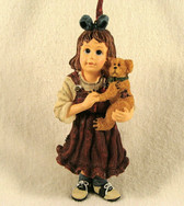 Boyd's Dollstone  ~  SAMANTHA With CONNOR Ornament  *  NIB