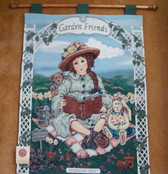 Boyd's Dollstone  ~  JULIA ... GARDEN FRIENDS Tapestry  *  NEW From Our Shop