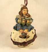 Boyd's Dollstone  ~  AMY & SAM * BABY'S 1st  XMAS Ornament  *  NEW From Our Shop
