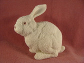 Snowbunnies  ~  LARGE SITTING RABBIT 1997  *L.E.*  NIB