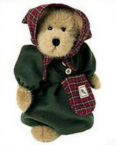 "Boyd's  ~  HEIDI  WOODSBEARY  *  10"" Bear w/ Dress *  NEW From Retail Shop"