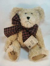 "Boyd's  ~  FITZGERALD D. BEARINGTON ... 12"" Mohair Bear *NEW In Box* From Our Shop"