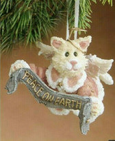 Boyd's  ~  FELICITY ANGELPUSS...PEACE ON EARTH Ornament  *  NEW From Our Shop