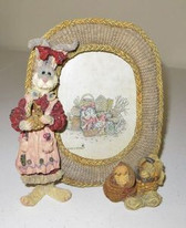 Boyd's  ~   WENDY WILLOWHARE ... A Tisket A Tasket FRAME  *1E*  NEW From Our Shop
