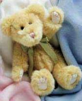 """Baby Boyds Bear  ~  KOOKIE SNICKLEFRITZ  10"""" * NWT"""