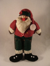 Delton  ~  SANTA With DANGLING LEGS ... Red & Green  *  NEW From Our Retail shop