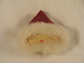 SANTA FACE ORNAMENT  *  NEW From Our Retail Shop