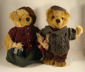 Russ  ~  BOY & GIRL BEARS ... With CHRISTMAS GIFTS  *  NEW From Our Shop