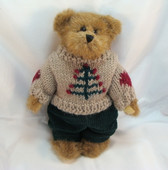 "Boyd's  ~  EDMUND ... 8"" Bear w/Sweater  *FALL 1995*  NEW From Our Shop"