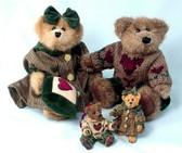 "Boyd's  ~  BAILEY & MATTHEW ... 8"" Bears  *FALL 1997 L.E.*  NEW From Shop"