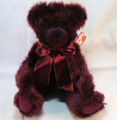 "TY  ~  BEARGUNDY ... Attic Treasure 8"" Bear  *  NEW From Our Retail Shop"