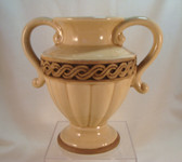 "Napco Vase  ~  6"" BROWN ORNAMENTAL VASE  *MINT Condition"