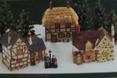 Department 56  ~  ORIGINAL DICKENS COTTAGES ... Set of 3  *  NEW From Our Shop