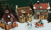 Dept. 56  ~  DICKENS LANE SHOPS ... Set Of 3  *  NEW From Our Retail Shop