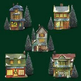 Dept. 56  ~  MERCHANT SHOPS ... Set Of 5  *  NEW From Our Retail Shop