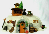 Dept. 56  ~  PEGOTTY'S SEASIDE COTTAGE ... Tan Version *RARE*  NEW From Our Shop