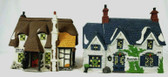 Dept. 56  ~  OLIVER TWIST COTTAGES  ... Set Of 2  *  NEW From Our Retail Shop