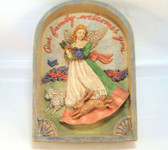 Enesco ~ OUR FAMILY WELCOMES YOU ... Jim Shore Wall Plaque  *  NEW From Our Shop