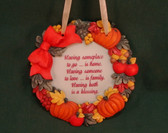 Enesco SIGNS OF TIME  ~  HAVING SOMEPLACE TO GO  *Fall Plaque*  NEW