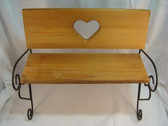 Boyd's  ~   WOOD BENCH ... For Bears Or Dolls  *  NEW From Our Shop