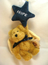 Boyd's  ~  H.B. STARCATCHER ... HOPE Bear Ornament  * MINT Condition