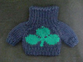 SHAMROCK KNIT SWEATER ... For Plush or Doll  *  NWT