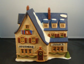Department 56 ALPINE VILLAGE Series ... APOTHEKE * NEW From Our Retail Shop