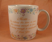 Russ ~  MOM MUG ... With Verse  *  NEW From Our Shop