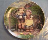 M.I. Hummel  ~  DANBURY MINT ... Set/4 Porcelain Plates  *  MINT Condition