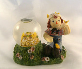 Raggedy Ann & Andy  ~  ANDY ... Butterflies Water Globe  *  NEW From Our Shop