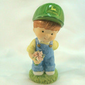 John Deere Friends  ~  BOY w/Flowers ... Be My Valentine  *  NEW From Our Shop