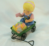 John Deere Friends  ~  GIRL With WAGON ... Deere Valentine  *  NEW From Our Shop