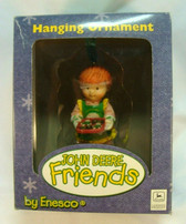 John Deere Friends  ~  GIRL MAKING COOKIES ... Ornament  *  NEW From Our Shop