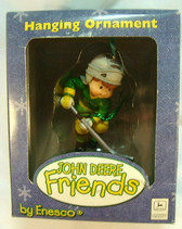John Deere Friends  ~  BOY Playing Hockey ... Ornament  *  NEW From Our Shop