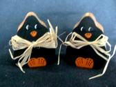 PAIR  OF  BLACK  DUCKS  *  HALLOWEEN  *  NEW From Our Retail Shop