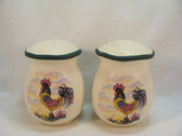 Noel  ~  SALT & PEPPER ... Rooster Design  *  NEW From Our Shop