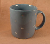 Mugs  ~  BLUE ... Mini FLORAL DESIGN  *  NEW From Our Shop