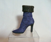 JUST THE RIGHT SHOE  ~  PURPLE DREAM  Boot  *  NIB