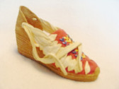 "JUST THE RIGHT SHOE  ~  ESPADRILLE ""PACHA""  *  NIB"