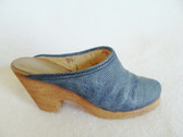 JUST THE RIGHT SHOE  ~  DENIM BLUES  *  NIB