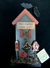 HALLOWEEN HOUSE...W/Bats and Hang Outs   *  NEW From Our Retail Shop
