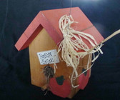 Fall Season Decor  ~  WOOD PUMPKIN BIRDHOUSE  *  NEW